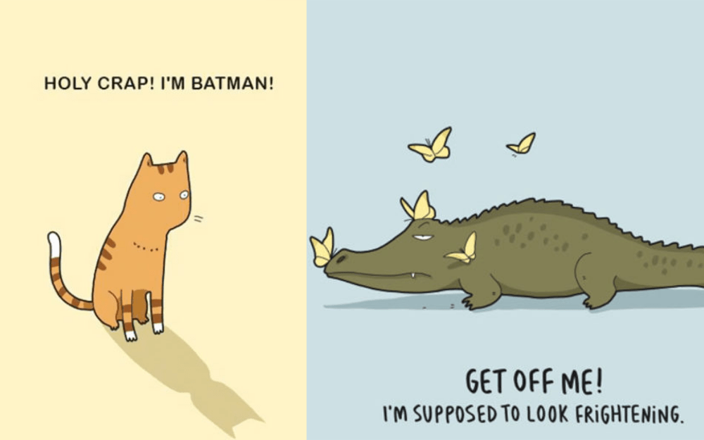 20 Brilliant Animal Comics from Lingvistov