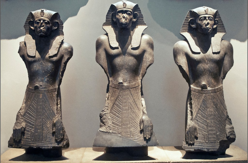 Why are the Noses Missing from so Many Egyptian Statues?
