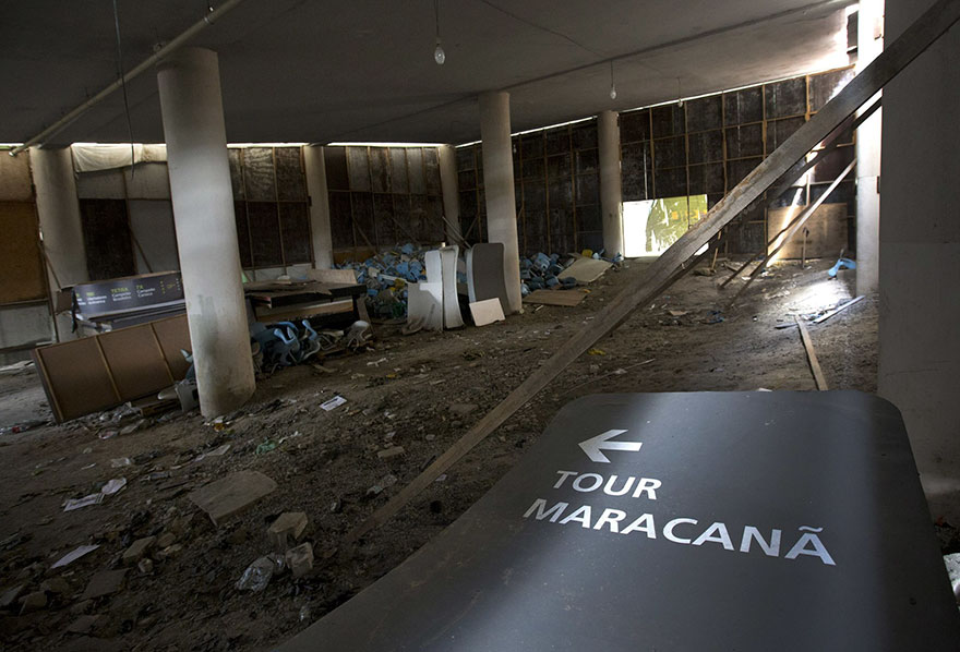 Rio 2016 Olympic Areas Only Just Six Months After The Olympics 10