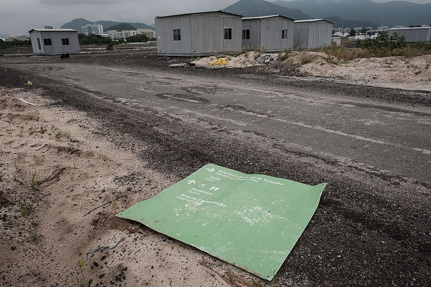 Rio 2016 Olympic Areas Only Just Six Months After The Olympics 9