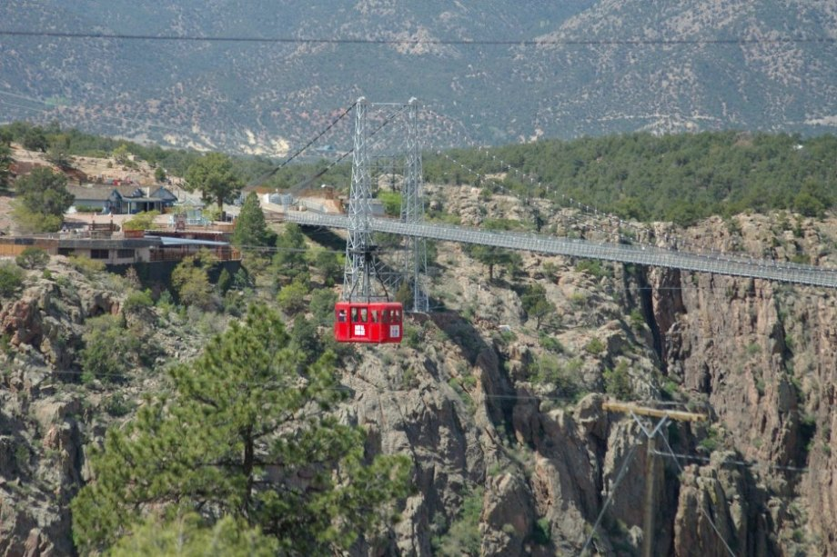 This bridge crosses the 1000 foot deep Royal Gorge, making it the highest bridge in the United States. Few are brave enough to go across the gorge in a bridge, let alone a cable car. Via Distractify