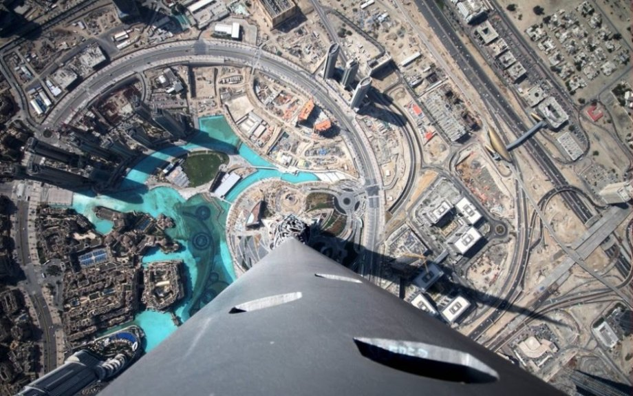 Burj Khalifa is 2,700 feet tall. For perspective, that's around twice as tall as the Empire State Building. If you're brave enough, you can overlook Dubai from what is likely the most awe-inspiring observation deck in the world.