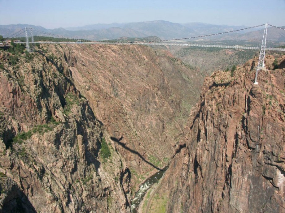 Royal Gorge Bridge in Colorado, USA
