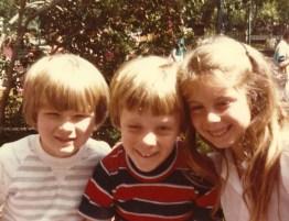 Me, Ryan, Kelly ~ 1985