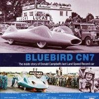 Bluebird CN7 land speed record car
