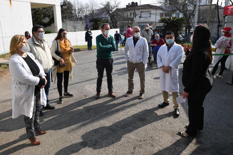 Vecinos de San Fernando dados de alta de coronavirus, participaron de un operativo para donar su plasma