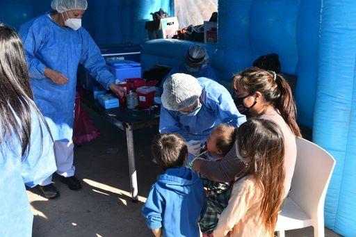 Plan DetectAR, la Municipalidad de Escobar y el Ministerio de Salud de la Nación desarrollaron el operativo sanitario en más de 1.000 hogares del barrio Amancay