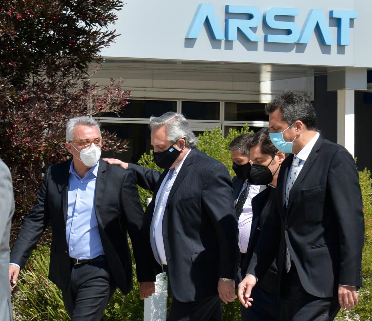 El presidente Alberto Fernández presentó en Tigre el Plan Nacional de Conectividad junto a Kicillof y Zamora