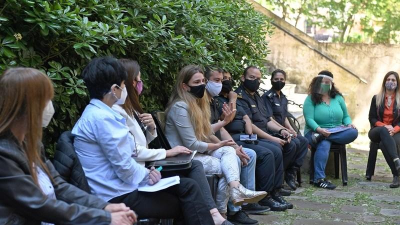 La Mesa de Género de San Fernando mantuvo un segundo encuentro para tratar la violencia hacia la mujer