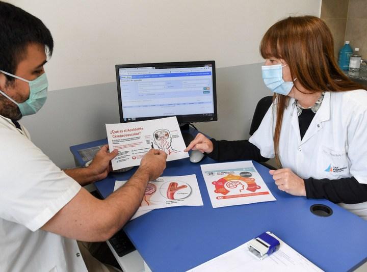 San Fernando conmemora el ´Día Mundial de la Lucha contra el ACV´ brindando consejos para cuidar la salud