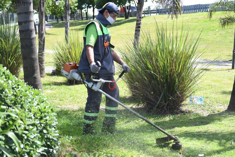 San Fernando sigue manteniendo y renovando todos los espacios públicos de la ciudad