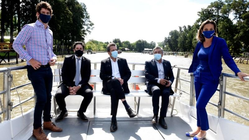 """Juan Andreotti estuvo presente en el lanzamiento del Programa """"Delta Conectado"""""""