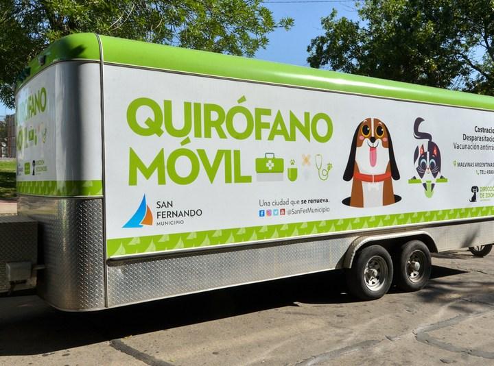 Zoonosis de San Fernando ofrecerá turnos online y volverá a recorrer los barrios con el quirófano móvil