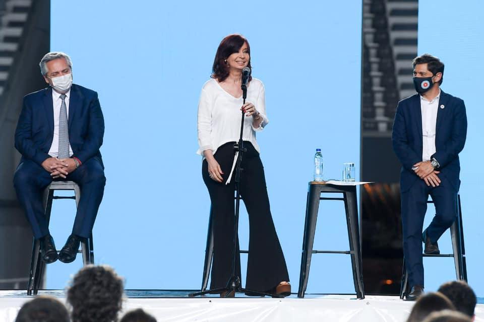 """Cristina: """"Todos aquellos que tengan miedo, vayan a buscar otro laburo"""""""