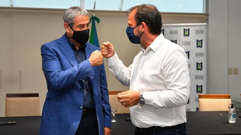 Ariel Sujarchuk y Jorge Ferraresi firman acuerdos para construir hasta 600 viviendas en el partido de Escobar