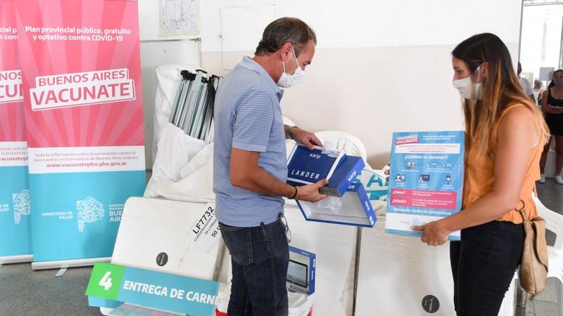 San Fernando prepara la Escuela N°1 para la vacunación contra Covid-19 y ya supera los 14 mil inscriptos