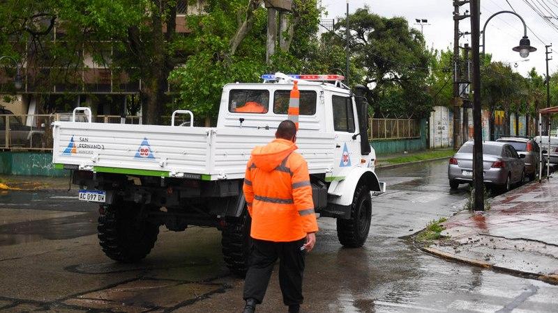 El Municipio de San Fernando pide precauciones por crecida del río y tormentas