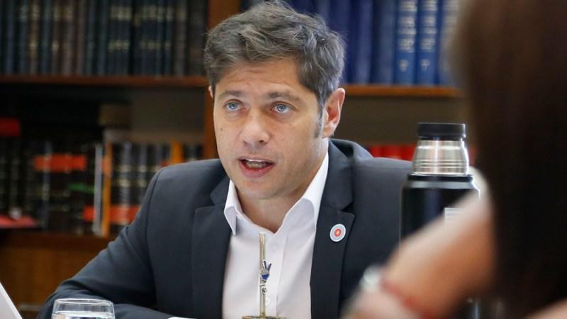"""Kicillof: """"Hay un acuerdo amplio para que Máximo Kirchner sea presidente del PJ bonaerense"""""""