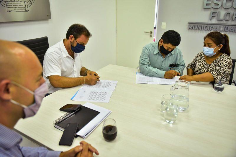 Escobar Sostenible: importante acuerdo entre la Municipalidad y la Colectividad Boliviana para avanzar en acciones de energías renovables