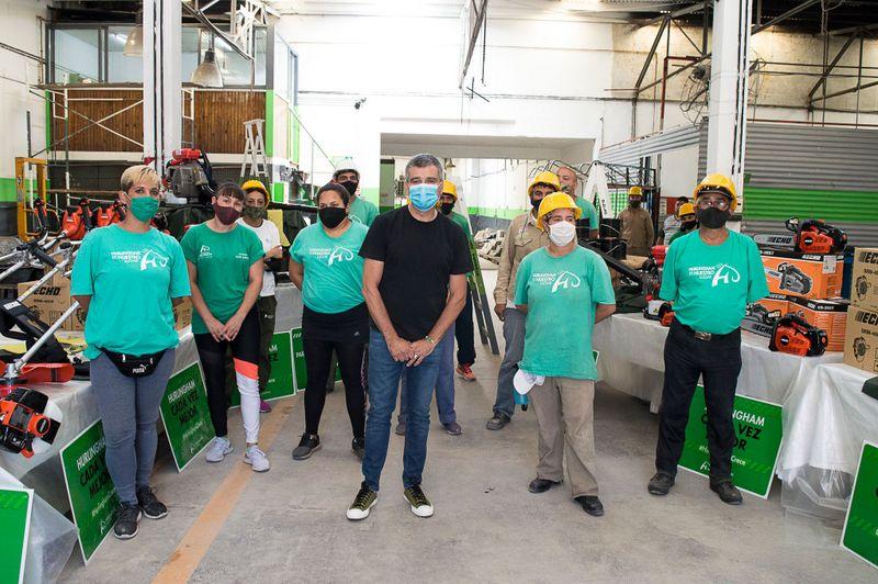 Zabaleta presentó nuevas herramientas del programa nacional Potenciar Trabajo