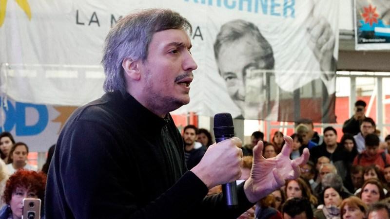 Máximo Kirchner encabeza la lista de unidad del PJ Bonaerense