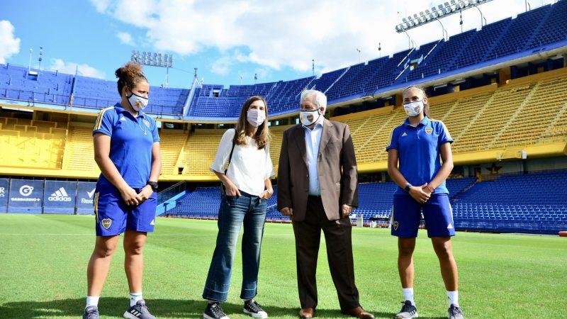 La ANSES firmó un convenio con Boca