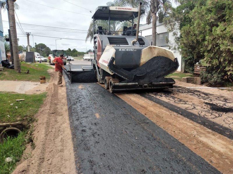 La Municipalidad de Escobar intensifica las obras de bacheo y pavimentación de calles en Loma Verde, Ingeniero Maschwitz, Maquinista Savio, Belén de Escobar y Matheu