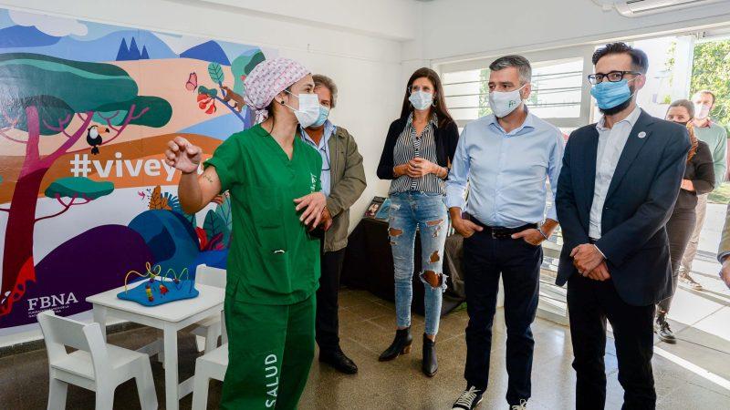 Zabaleta y Simone inauguraron en Hurlingham las obras de ampliación y remodelación del centro de salud Ángel Bo