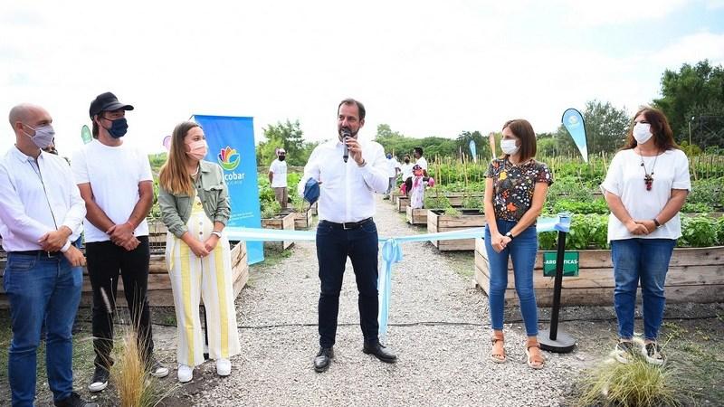 El partido de Escobar ya tiene su segunda huerta agroecológica municipal en el nuevo Polo Ambiental de Maquinista Savio