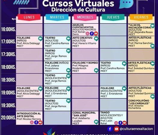 Exaltación de la Cruz, Cursos Virtuales 2021