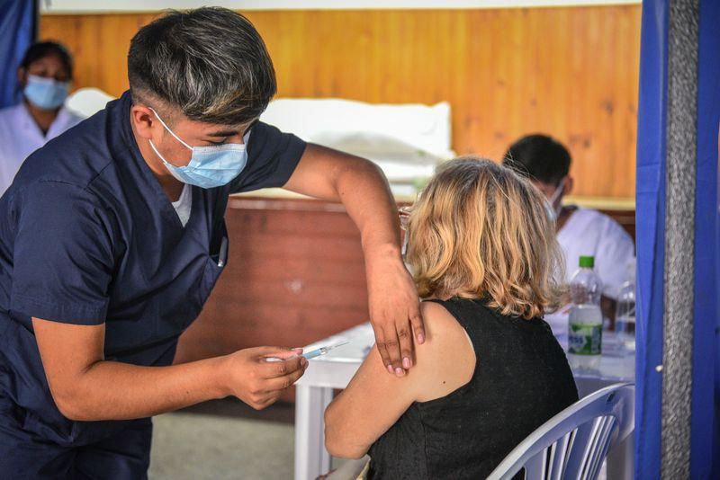 Ya son más de 31.000 las personas vacunadas contra el Covid-19 en el partido de Escobar