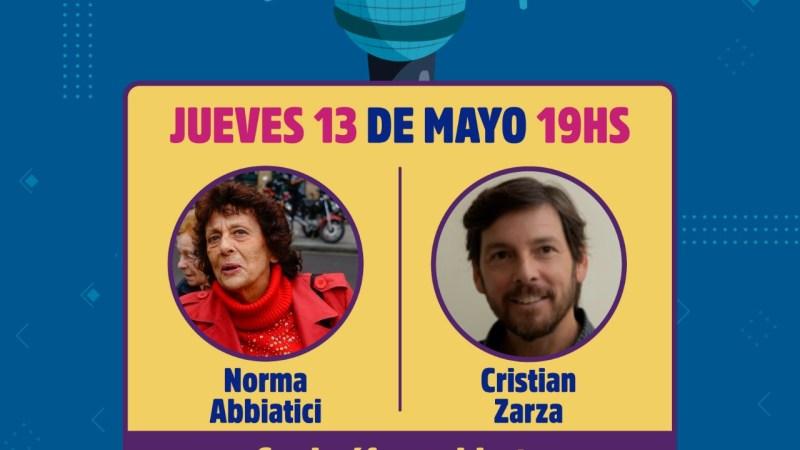 Escobar, Norma Abbiatici & Cristian Zarza le dan continuidad al Ciclo de Recitales Poéticos 2021
