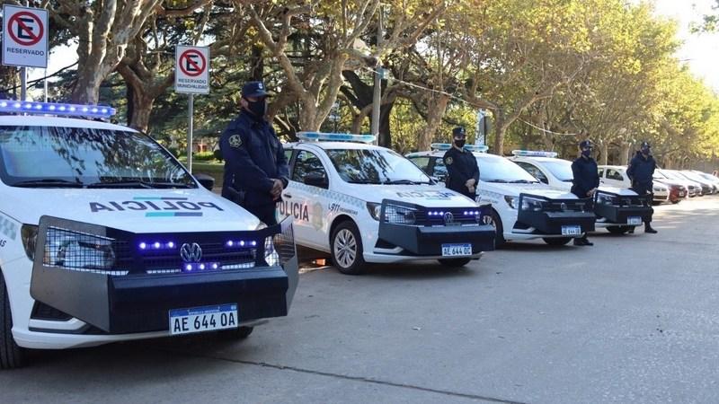 Exaltación de la Cruz, se suman Cuatro Patrulleros para el uso Policial