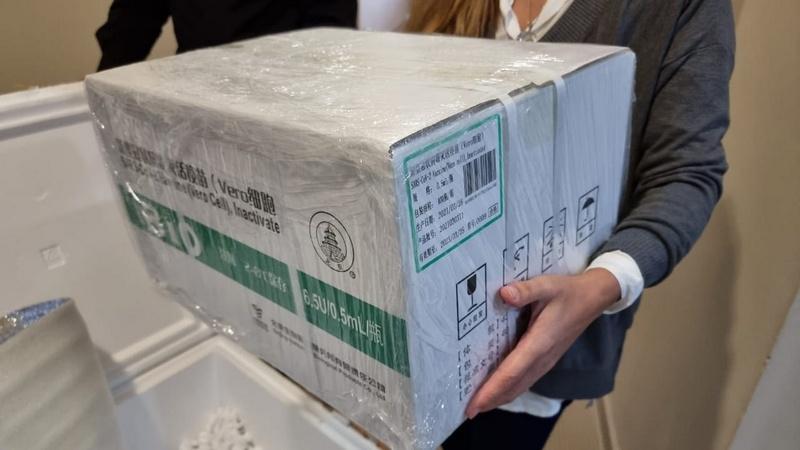 Exaltación de la Cruz, llegaron 1800 dosis de Vacunas