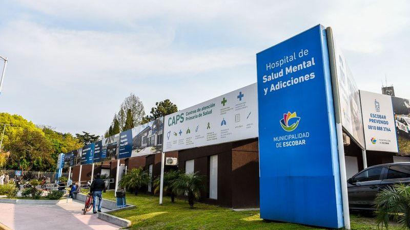 """El Hospital de Salud Mental y Adicciones de Belén de Escobar """"Papa Francisco"""" amplió un 62% sus atenciones en lo que va del año"""