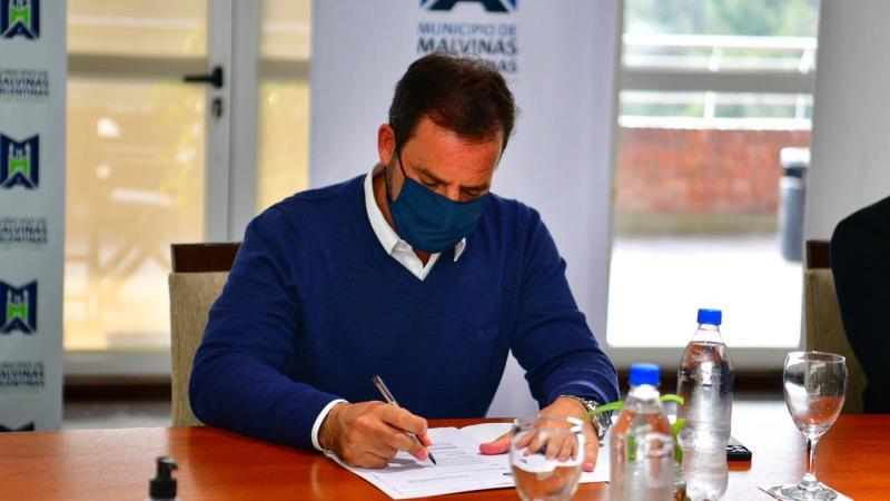 Ariel Sujarchuk reasumió la presidencia del consorcio RN2  que se reunió para analizar la situación sanitaria de los distritos