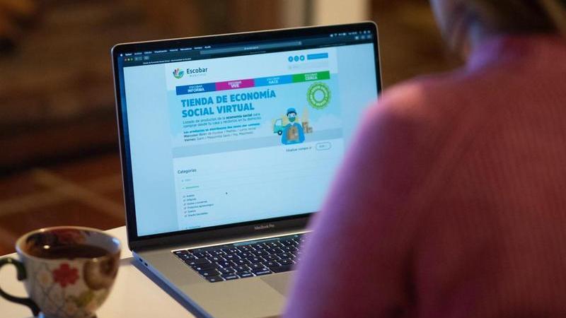 Escobar, se registraron más de 1700 entregas a domicilio en el primer año de funcionamiento de la Tienda de Economía Social Virtual
