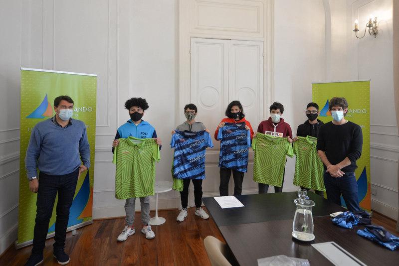 Juan Andreotti reibió a jóvenes tenistas que representarán a San Fernando en los Juegos Bonaerenses
