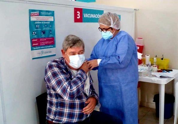 Exaltación, semana Récord en Vacunas , llegaron 6100 Dosis