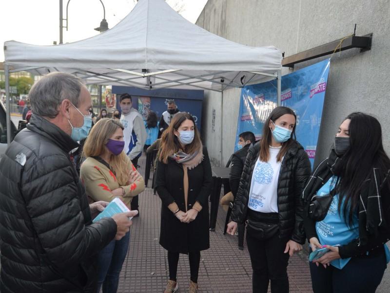 Se realizó una jornada de vacunación contra el COVID-19 en la Estación Virreyes