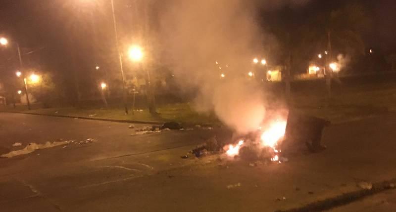 Vecinos protestan a EDENOR  por los cortes de Luz