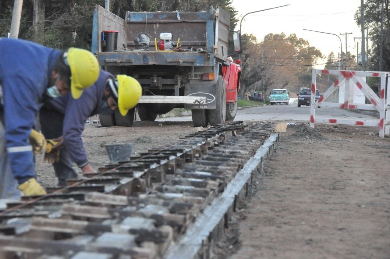 Los Cardales, la Avenida Belgrano vuelve a tomar forma