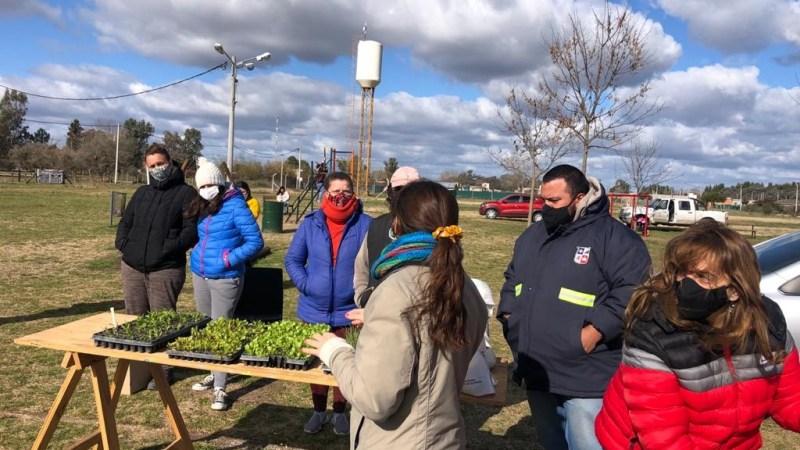 Encuentro Vecinal para la Huerta en Arroyo de la Cruz