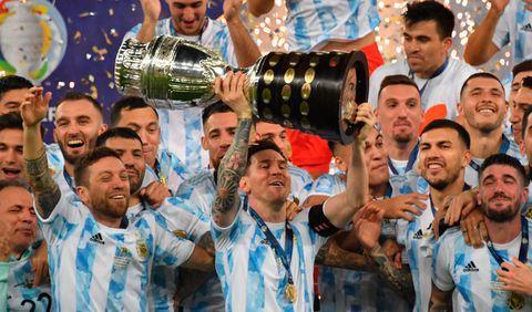 En el Maracaná y de la mano de Messi, Argentina gritó Campeón