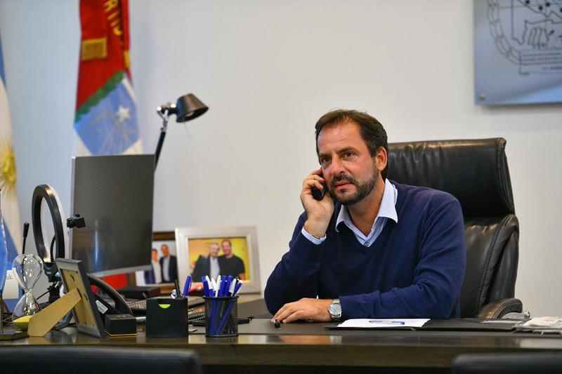 Luego de su internación por Covid-19, el intendente Ariel Sujarchuk retomó de manera presencial sus actividades oficiales
