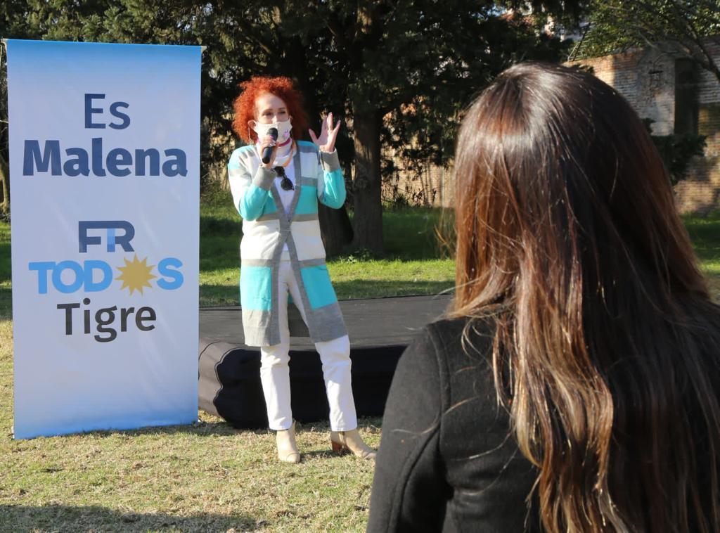 """Gladys Pollán: """"Lo fundamental es que la política tenga en su agenda, las necesidades de los Vecinos y las Vecinas"""""""