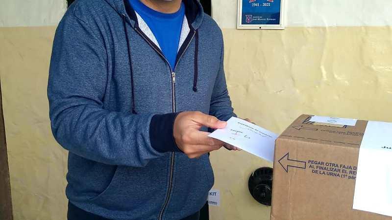 Votó el Intendente Diego Nanni