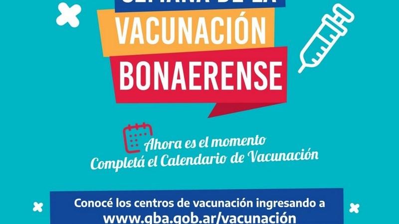 Salud lanzó la Semana de la Vacunación en toda la Provincia