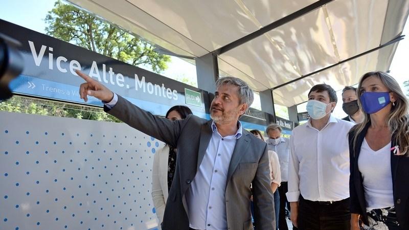 En Tigre, la renovada estación Montes ya quedó inaugurada