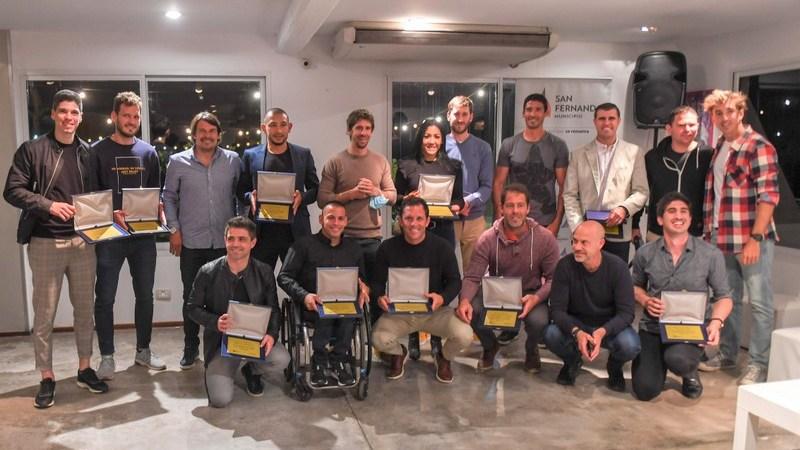 Juan Andreotti reconoció a deportistas sanfernandinos destacados